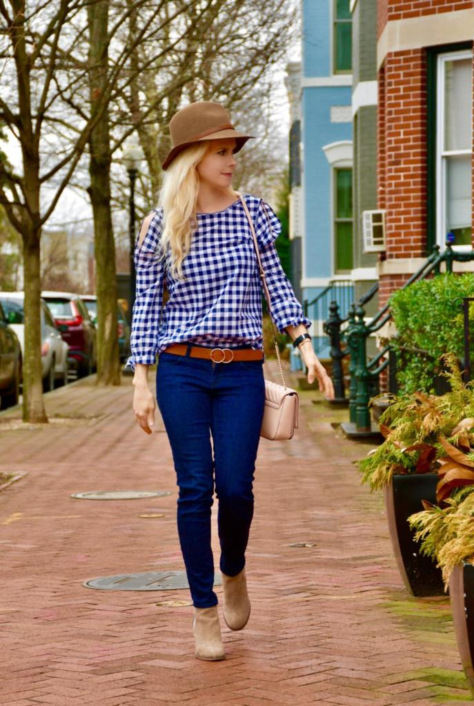 Spring Gingham & Curing the Winter Blues