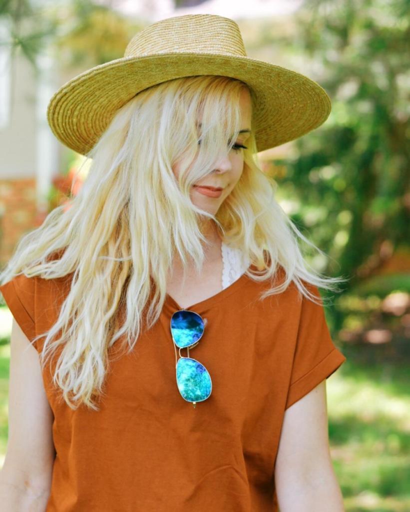 MDW 2018 // Zara Brick Colored Basic Tee Shirt
